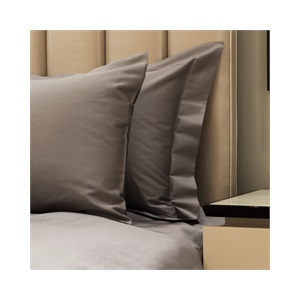 300tc Plain Super King Duvet Set Iron with Standard size pillowcases