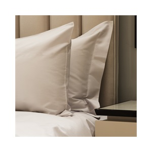 300tc Plain SUPER KING DUVET SET WITH STANDARD PILLOWCASES Silver Grey