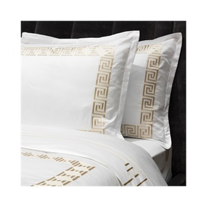 Peter Reed 600tc Athena Sheet Set in Metallic Stone