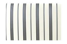 Merrion Stripe Navy Cushion
