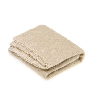 Mohair Blonde Throw