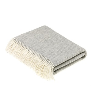 Merino Herringbone Throws
