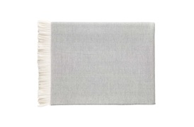 Herringbone Fine Merino Throw by Johnstons of Elgin