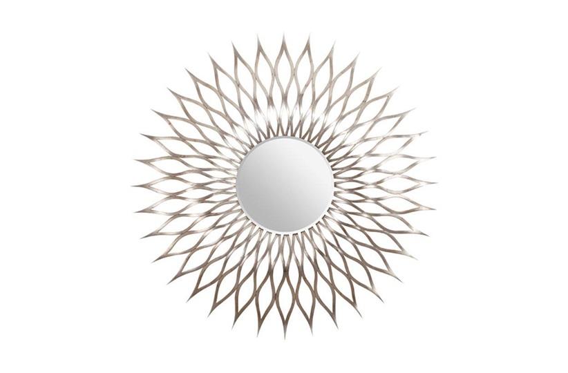 Broad Round Mirror