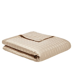 Parker Silk Bedspread & Cushion by Gingerlily
