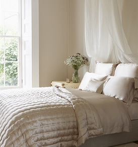 Nude Silk Bed linen       by Gingerlily