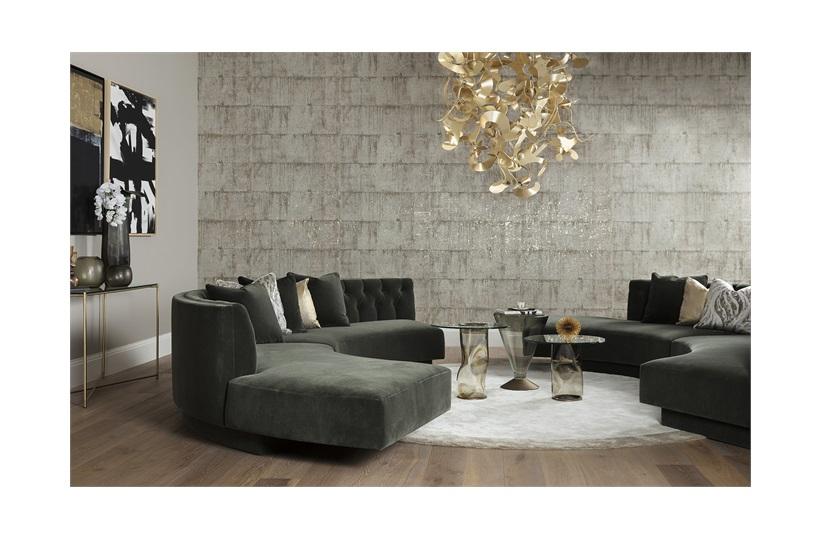 Groovy Barker Border Round Rug Rugs The Sofa Chair Company Creativecarmelina Interior Chair Design Creativecarmelinacom