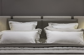 Classic Firm 100% Linen bedding set with hemstitch detailing
