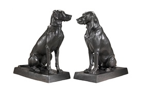 Dogs Pointer & Hound              Sculpture                  by Eichholtz