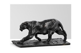 Jaguar Art Deco                  Sculpture by Eichholtz