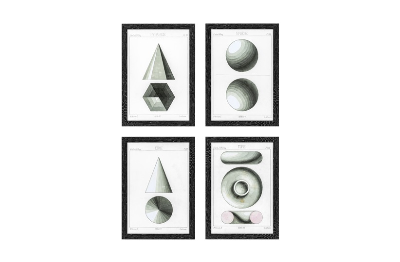 Spherical Projection                                  Prints by Eichholtz (Set of 4)