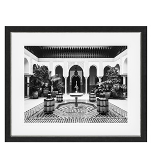 Courtyard Marrakech Print by Eichholtz