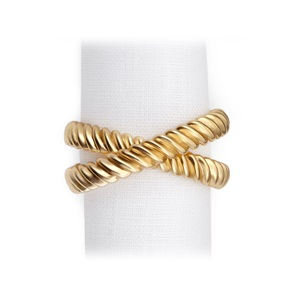 Deco Twist Napkin Jewels