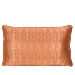 Piped Lumbar Cushion