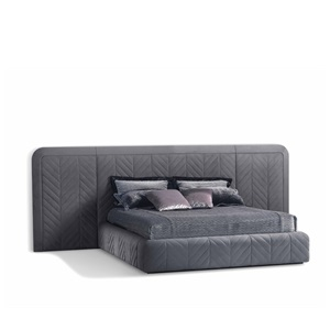 Harrison Padded Bed By Smania
