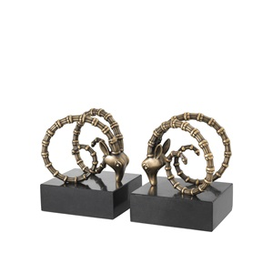 Ibex Bookends