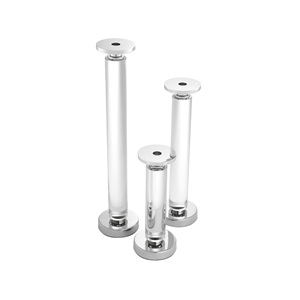 Chapman  Candle Holders          Set of 3  By Eichholtz