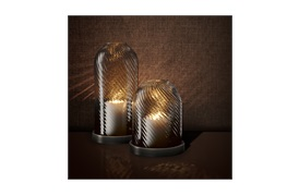 Hurricane Giselle              Candle Holder by Eichholtz