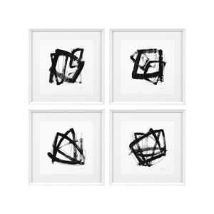 Prints Tessellation set of 4