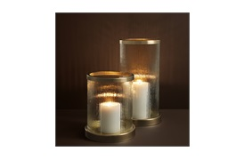 Harrington Hurricane         Candle Holder By Eichholtz