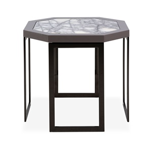 Vision Octagonal End Table              By Giorgio Collection