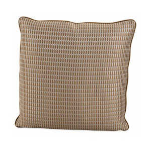 Stamp Ochre Cushion