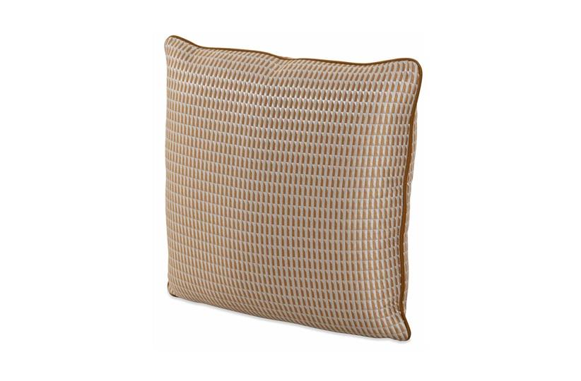 Stamp Ochre Cushion