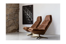 Blas Swivel Armchair