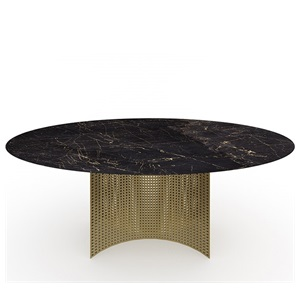 Lunette Dining Table by Alex Mint