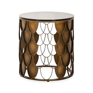Honey Side Table