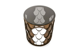 Honey Side Table