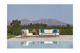 Paralel Outdoor Coffee Table   by Point