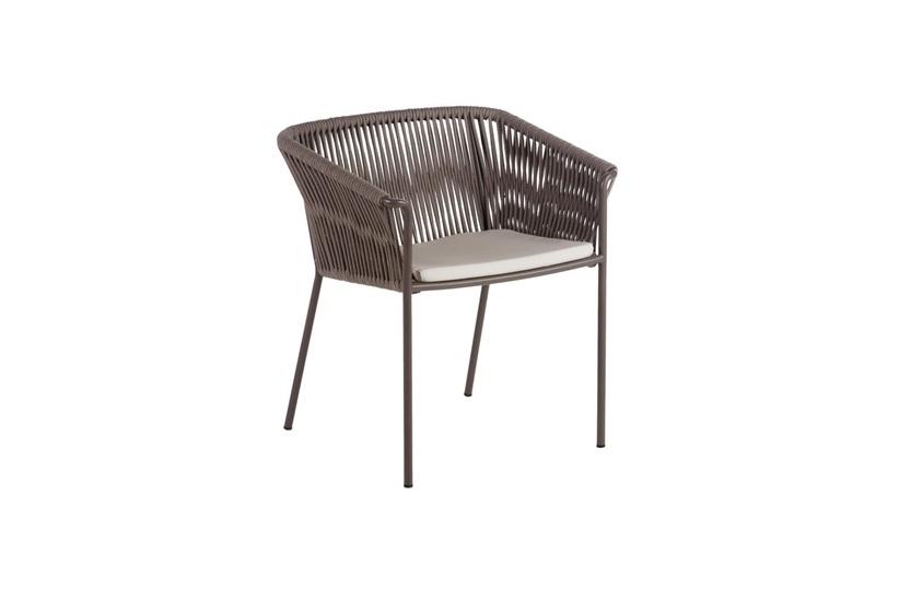 Weave High Back Armchair