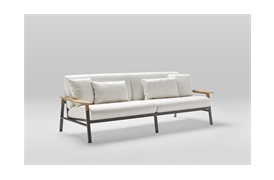 City Outdoor 3 Seater Sofa