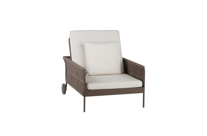 Weave Reclining Armchair    by point