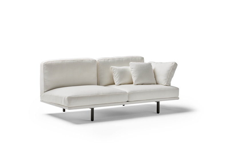 Long Island Outdoor 2 Seater Module Sofa with Arm