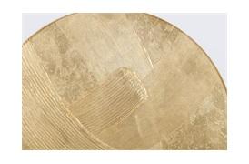 Teign Circular Gold Wall Art