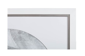 Teign Circular Silver Wall Art