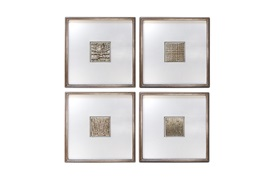 Textured Squares 03 Wall Art