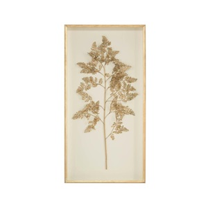 Frond on Ivory Wall Art