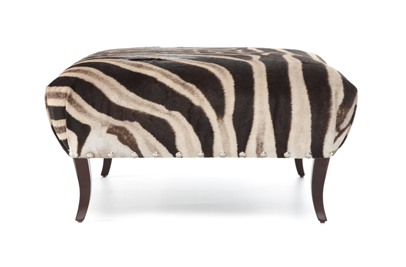 Zebra Stool Stools Amp Benches The Sofa Amp Chair Company