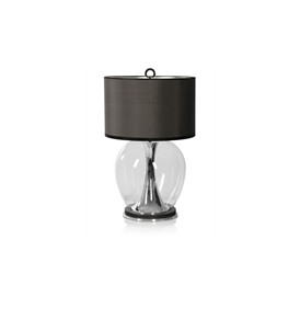 Concave Silver Lamp