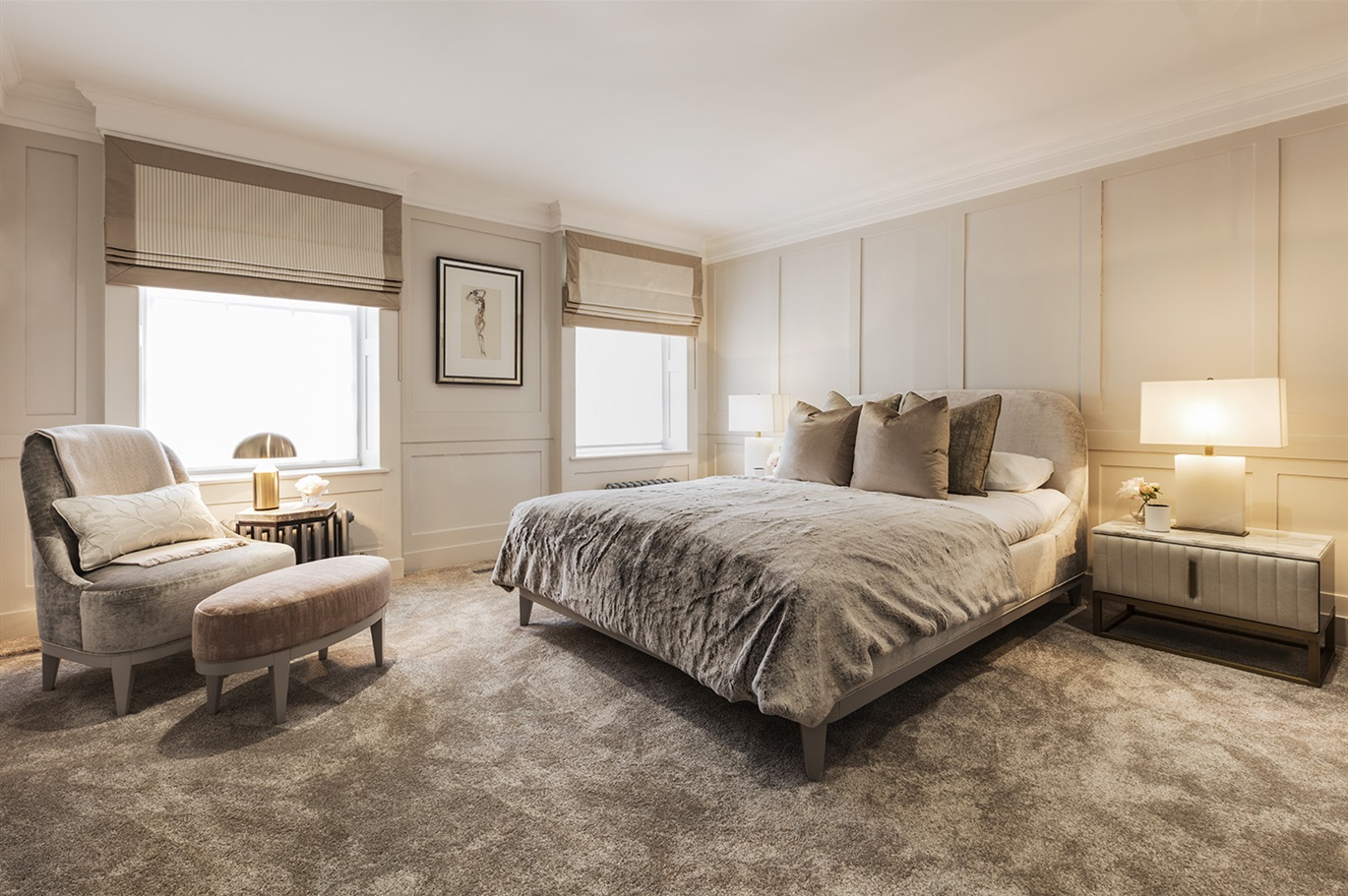 Hogarth House - Guest Bedroom