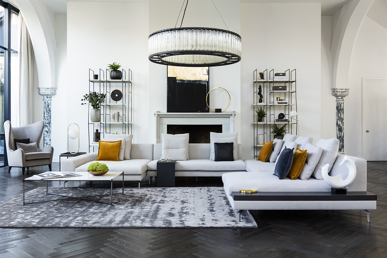 Contemporary luxury living room furniture