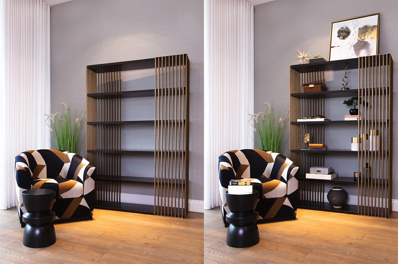 Styling your bookshelf in 2021