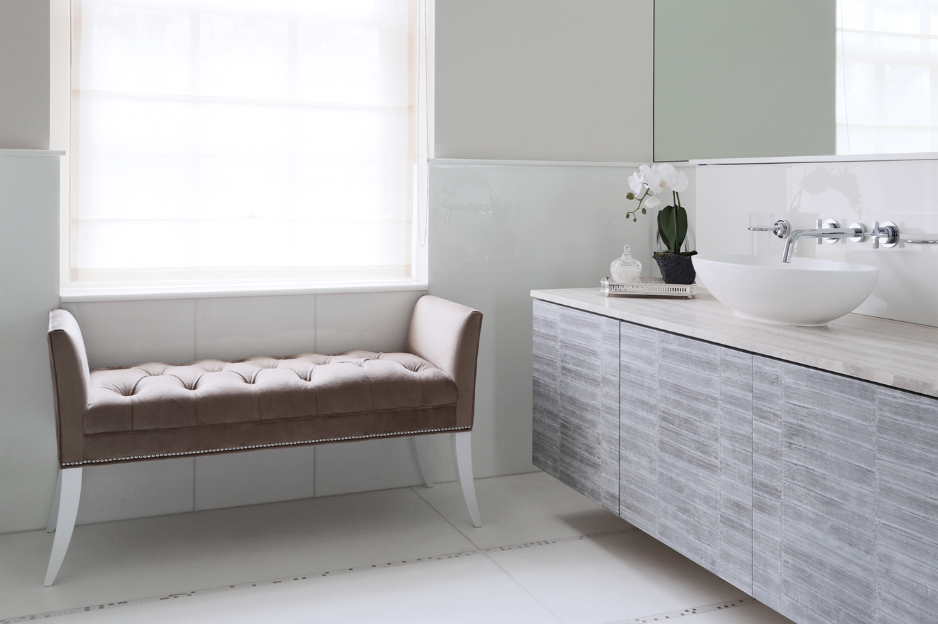 Luxury bathroom furniture the sofa chair company for Luxury bathroom companies