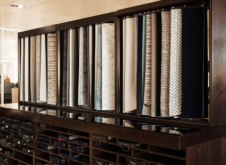 LARGEST FABRIC LIBRARY IN THE UK