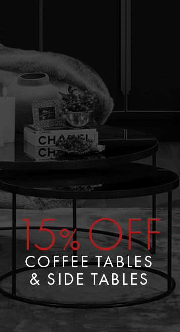 15% OFF Coffee Tables & Side Tables