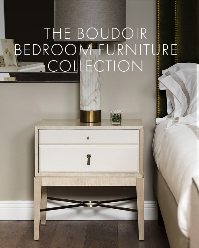 Boudoir bedroom furniture range