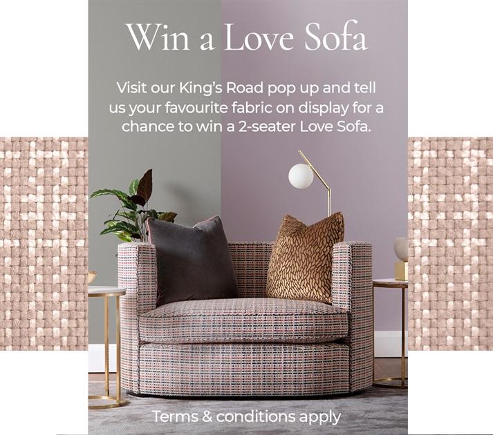 Win a Love Sofa